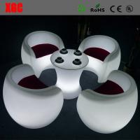 China Whaterproof Outdoor Furniture LED Furniture Glowing Chair  16 colors changable for Yard Garden Party Club Event Park wholesale