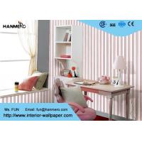China Removable Modern Home Decoration Wallpaper For Bedroom , Non - Woven Material wholesale
