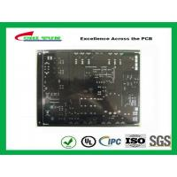 China Black Solder Mask Quick Turn Pcb Assembly 2 Layer Fr4 1.6mm Lead Free Hasl wholesale