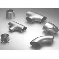China Carbon Steel / Stainless Steel Butt Weld Fittings Steel Pipe Tee with ISO9001 Approvals wholesale