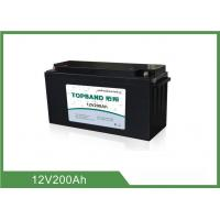 China 25Kg Reliable Marine Rv Battery , Marine Deep Cycle Battery 2 Years Warranty  wholesale
