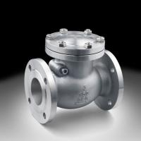 China Stainless steel 2Cr13 Seat Raised Face Swing Check Valve ISO 9001 / API 6D wholesale