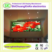 China High Resolution Indoor Advertising LED Screens With Epistar Lamp and MBI 5024 IC wholesale