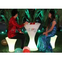 China Night Bar Led Cube Chair With Wireless Remote Control And CE , ROHS ,UL wholesale