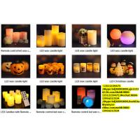 China LED Wax candle light wholesale