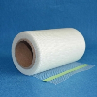 China Wall Gap Jointed Adhesive Mesh Tape 9x9 75g/M2 90m Roll wholesale