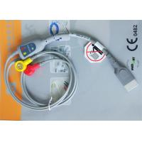 Quality Snap Electrode Holter ECG Cable 2 Leads Medical Device Accessories For Patient Monitor for sale