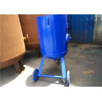 China Open Mobile Derusting Sand Blasting Machine 400mm Diameter 0.8MPA Pressure wholesale