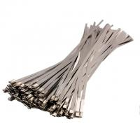 China 304 316 Fire-proof self-lock Stainless Steel Cable Ties with 16mm width wholesale