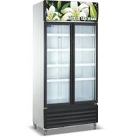 China Commercial Refrigerator Freezer LC-1000M2F , Vertical Showcase With Glass Door wholesale