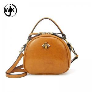 China OEM Small Vintage custom print messenger bag mobile phone vegan leather bag funny bags women handbags 2018 on sale