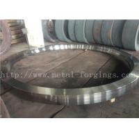 China Max OD 5000mm A350 LF3 LF6 Carbon Steel Forged Rings  Rough Machined Q+T Heat Treatment wholesale