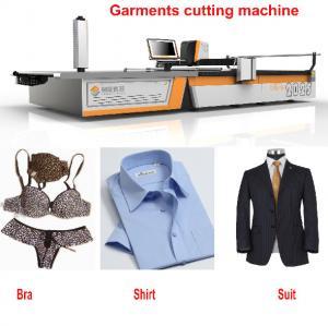 China CNC 1.7m Knit Fabric Cutter Knife Cutting Machine For T-Shirt / Suit / Pants / Bra wholesale
