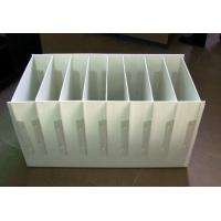 Quality Black / White Heat resistance Foldable Plastic Divider Sheets for buffer / packing for sale
