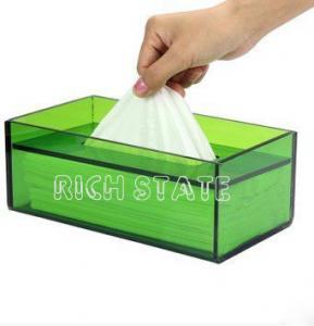 China Perspex tissue box wholesale