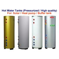 China Pressurised Water Heater Storage Tank , Solar Water Storage Tank Customized Size on sale