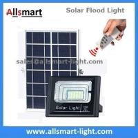 Buy cheap 10W 30LED Solar Flood Lights with Remote Solar Spot Lamp for Garden Football Pitch Outdoor Basketball Court from wholesalers