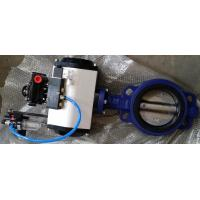 China DN40 ~DN1800 Pneumatic Butterfly Valve With Ductile Iron / Stainless Steel wholesale
