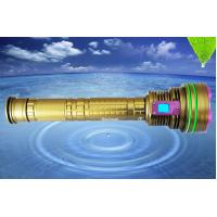 Buy cheap DX12 12*XML2 10000LM led dive flashlight, 6500k underwater 100m professional led from wholesalers