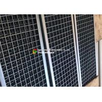 China Gardens / Airport Galvanised Floor Grating , Metal Driveway Drainage Grates wholesale