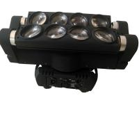 China Professional 8* 10W Mini LED Spider Light / Led Moving Head Lights For Small Concerts wholesale