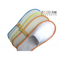 China Non Woven Fabric Hotel Disposable Slippers Plain Style Multi Color wholesale