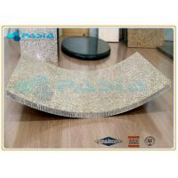 China Light Weight Curved Honeycomb Stone Panels Ultra Thin Granite Panels wholesale