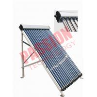 China 20 Tubes Heat Pipe Evacuated Tube Solar Collectors For Swimming Pool wholesale