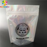 China custom your Own Logo Printing aluminum foil packaging bag with bottom gusset bag Bottom Pouch bags clear  zipper foilbag wholesale
