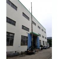 China 25m lockable pneumatic telescopic mast 150kg payloads NR3900-25000-150L for mobile telecom antenna broadcasting wholesale