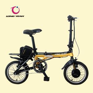China Folding Electric Bike (TDU1201Z) Black & Yellow wholesale