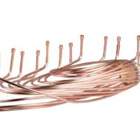 China Distributor Head Heat Exchanger Copper Coil Tubes With CE ISO 9001 Certification wholesale