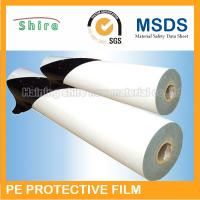 China White Scratch Protection Film For Doors , Recycable Protective Adhesive Film Tape wholesale