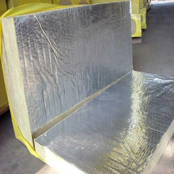 Rock wool board with aluminium foil foil back rock wool for What is rockwool insulation