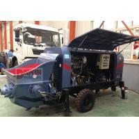 Quality Powerful 30 m3/hr ~80 m3/hr trailer hydraulic concrete pump with diesel or for sale