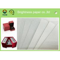China High Stiffiness Grey Chip board Paper For Notebook Packaging 1250gsm / 2.00mm wholesale