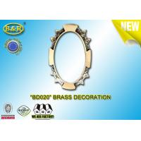 China Ref.BD020 Brass Decoration Metal Tombstone Frame Material Copper Alloy Size 8*10,11*15cm wholesale