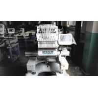 Quality Industrial Single Head Embroidery Machine Thready Holding System High Stable for sale
