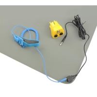 Buy cheap 120x60cm Rubber Antistatic Table ESD Mats With Wrist Band from wholesalers