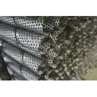 China Round Perforated Metal Pipe Water Well Wire Wrap Screens And Prepack Screens wholesale