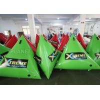 China 1.5m Airtight Triathlon Inflatable Triangle Buoy With D Rings Customized Size wholesale