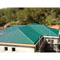 China 1050mm width Acoustic Corrugated Pvc Roofing Sheets For Villa / Hotel wholesale