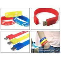 China USB Silicon Bracelet(USB Wrist Band) wholesale