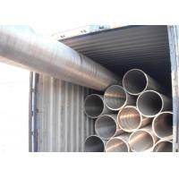 China Seamless Alloy Steel Tube P91 NDE Plain End Nuclear Power Plant Application wholesale