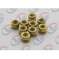 China Professional Custom Turned Metal Parts Brass Knurled Nuts With M5 Thread wholesale