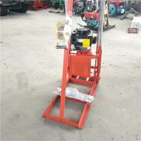 China Motor Or Diesel Power Soil Testing Drill Rigs For Rural Area Exploration on sale