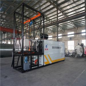 China Diesel Oil Burner Bitumen Decanter Machine , 17kw Asphalt Drum Melter wholesale