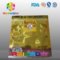 China Gold Anti Static Bag / Esd Shielding Electronic Products Zipper Bag Custom wholesale