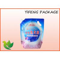 Quality Liquid Detergent Spout Juice Pouch bag With Custom LOGO For Washing Powder for sale