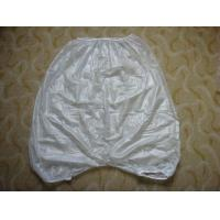 Buy cheap Heat Sealed And Leak Proo Mortuary Garments Vinyl Short Pants undergarments from wholesalers